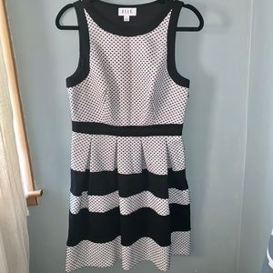 Elle Black& White Dress